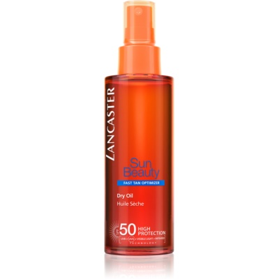 Lancaster Sun Beauty Droge Olie voor Bruinen in Spray  SPF 50