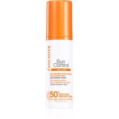 Lancaster Sun Control crème solaire contour des yeux SPF 50+