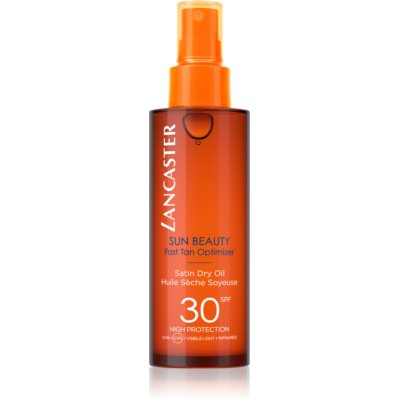 Lancaster Sun Beauty olio abbronzante secco in spray SPF 30
