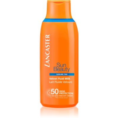 Lancaster Sun Beauty Velvet Fluid Milk SPF 50