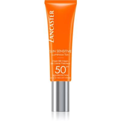 Lancaster Sun Sensitive BB Crème met zeer hoge UV Factor Bescherming voor Gevoelige Huid