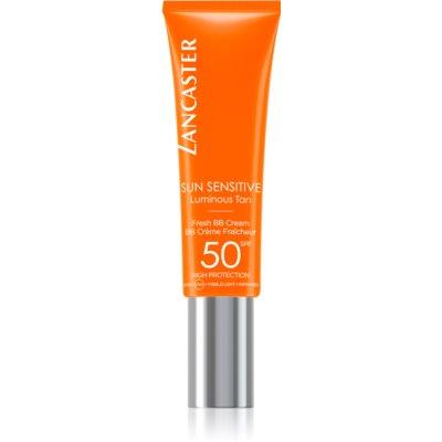 Lancaster Sun Sensitive BB-kräm med mycket hög solskyddsfaktor för känslig hud