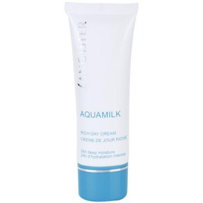 Lancaster Aquamilk crème hydratante pour peaux sèches à très sèches
