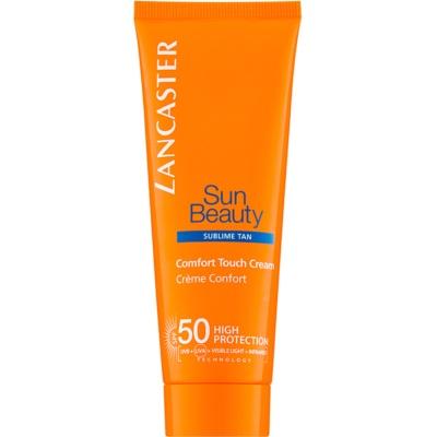 крем за загар против стареене на кожата SPF 50