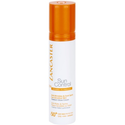 crema bronceadora antiarrugas con efecto iluminador  SPF 50+