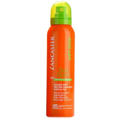 spray protecție solară cu aplicare pe pielea umedă SPF 15