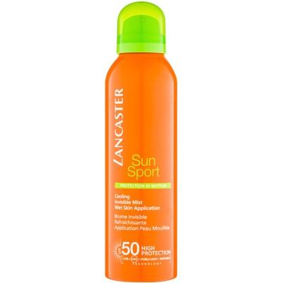 spray de corp răcoritor cu protecție solară SPF 50