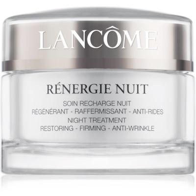 Lancôme Rénergie Nuit crema de noche reafirmante y antiarrugas  para todo tipo de pieles