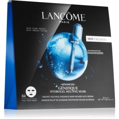 Lancôme Génifique Advanced омолоджуюча та освітлююча маска зі зволожуючим ефектом