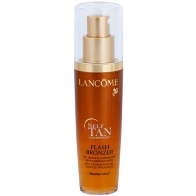 Lancôme Flash Bronzer samoopalovací gel na obličej