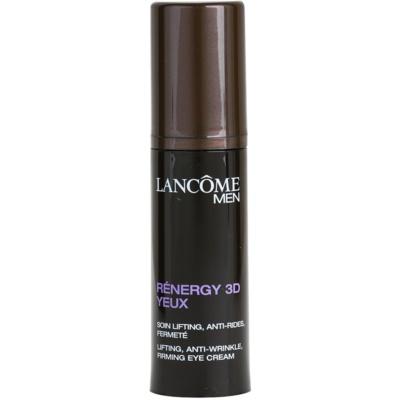 Lancôme Men Rénergy 3D crema reafirmante para contorno de ojos para todo tipo de pieles