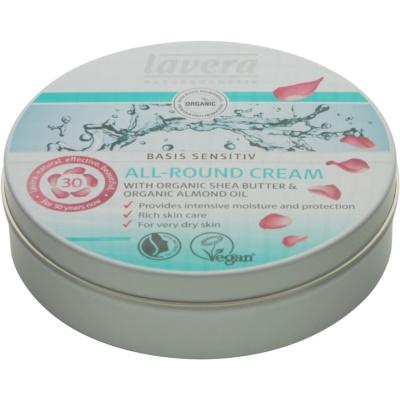 Lavera Basis Sensitiv crème de jour nourrissante et hydratante pour peaux sèches