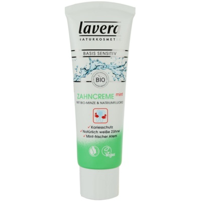 Lavera Basis Sensitiv Mint Toothpaste