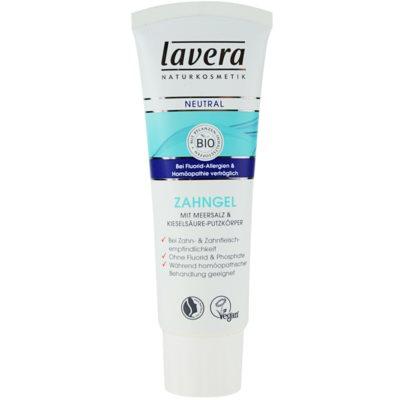 Lavera Neutral Tandgel  met Zeezout