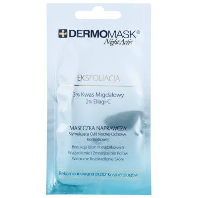 mascarilla exfoliante para redensificar la piel