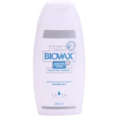 posilující šampon s keratinovým komplexem