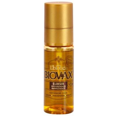 hydratační a vyživující sérum pro lesk a hebkost vlasů