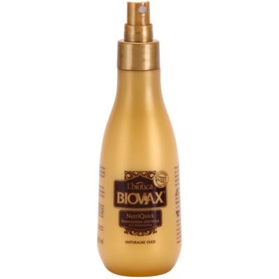 dvoufázový hydratační sprej pro suché a křehké vlasy