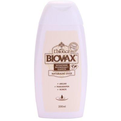 regenerační šampon pro hydrataci a lesk