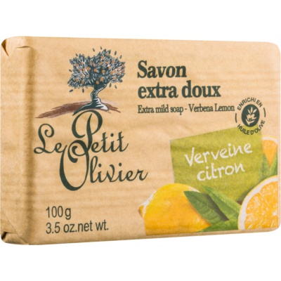 Le Petit Olivier Verbena & Lemon Extra Mild Soap