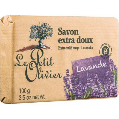 Le Petit Olivier Lavender extra gyengéd szappan