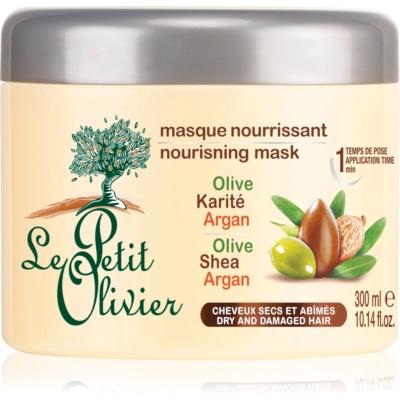 Le Petit Olivier Hair Olive, Shea & Argan masque nourrissant cheveux