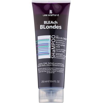 šampon pro blond vlasy neutralizující žluté tóny