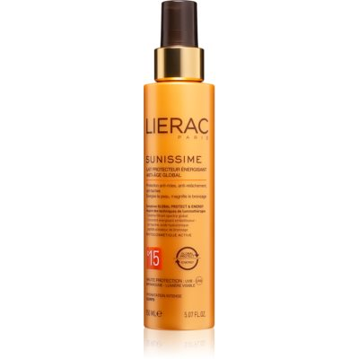 Lierac Sunissime Energizing Protective Anti-Aging Lotion SPF 15