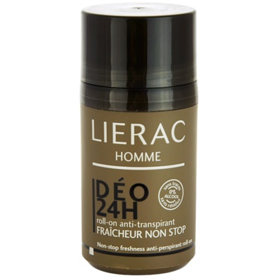 Lierac Homme 24 H Roll-on Anti-transpirant24 H Roll - On Anti - TranspirantH Roll-on Anti - Transpirant