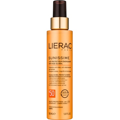 Lierac Sunissime Energizing Protective Milk SPF 50