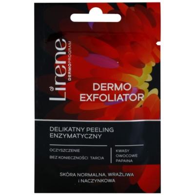 gyengéd enzimatikus peeling Érzékeny, bőrpírra hajlamos bőrre