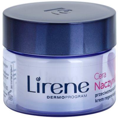 Lirene Redness regenerujący krem na noc przeciw zmarszczkom