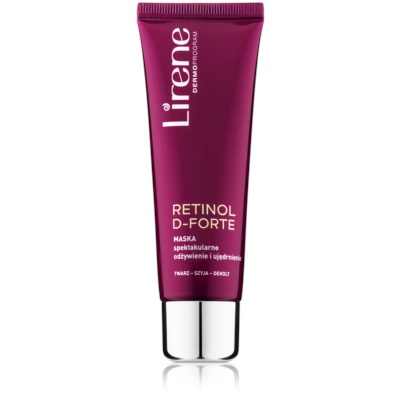 Nourishing and Firming Mask For Face, Neck And Chest
