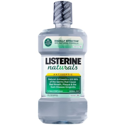 antiseptická ústna voda