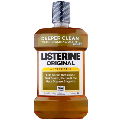 Listerine Original Mouthwash For Everyday Use