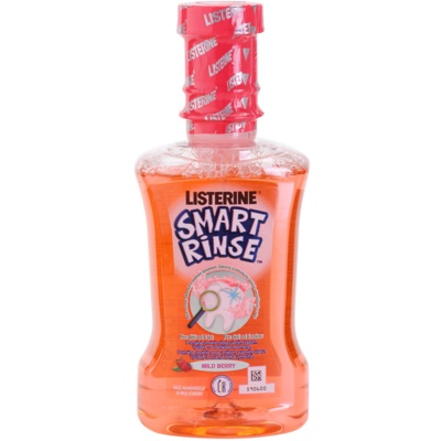 Listerine Smart Rinse Mild Berry ústna voda pre deti