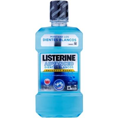 Listerine Stay White bain de bouche effet blancheur