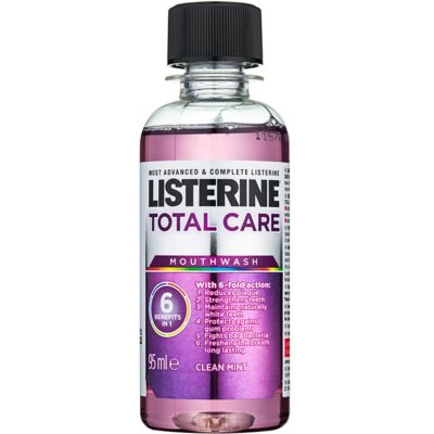 Listerine Total Care Clean Mint Complex Protection Mouthwash 6 In 1