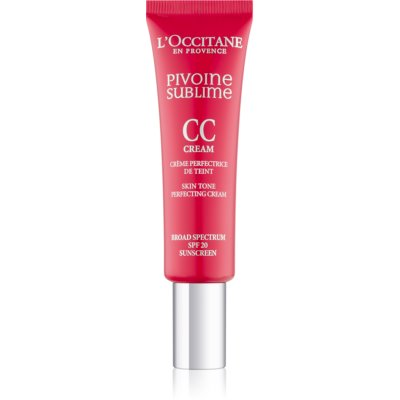L'Occitane Pivoine Sublime Getinte CC Crème SPF 20