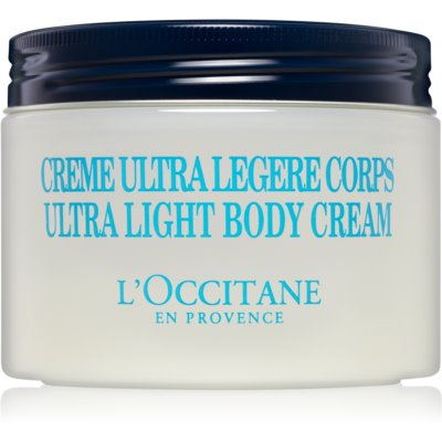 crema fórmula ultra ligera para cuerpo