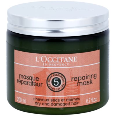 L'Occitane Hair Care Regenerating and Moisturising Hair Mask With Shea Butter