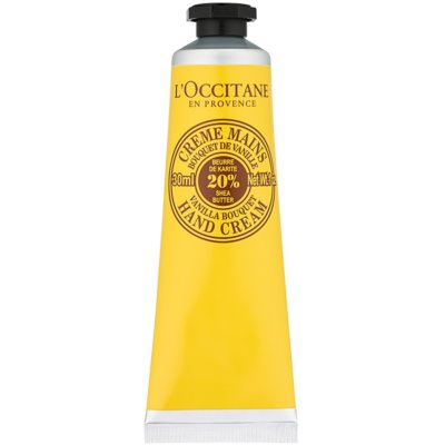 crema de manos con aroma a vainilla