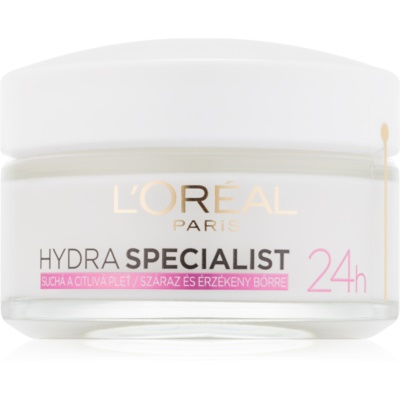 crema de día hidratante  para pieles sensibles y secas