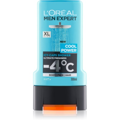 L'Oréal Paris Men Expert Cool Power τζελ για ντους