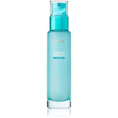 L'Oréal Paris Hydra Genius vlažilna nega za obraz za suho in občutljivo kožo