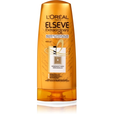 L'Oréal Paris Elseve Extraordinary Oil Coconut hranilni balzam za normalne do suhe lase