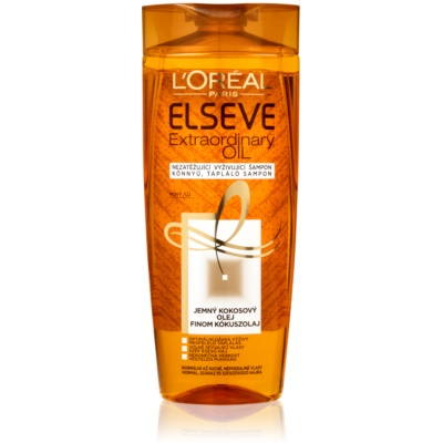 L'Oréal Paris Elseve Extraordinary Oil Coconut Nourishing Shampoo For Normal To Dry Hair