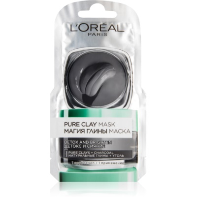 L'Oréal Paris Pure Clay masque détoxifiant
