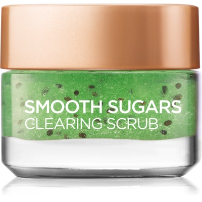 L'Oréal Paris Smooth Sugars Scrub Reinigingspeeling  Anti-Blackheads