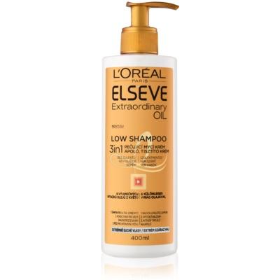 Pflegende Seifencreme für sehr trockene Haare